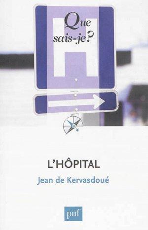 L'hôpital - puf - 9782130634072 -