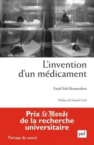 L'invention d'un médicament - puf - presses universitaires de france - 9782130635321 -