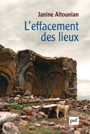 L'effacement des lieux - puf - presses universitaires de france - 9782130814078 -