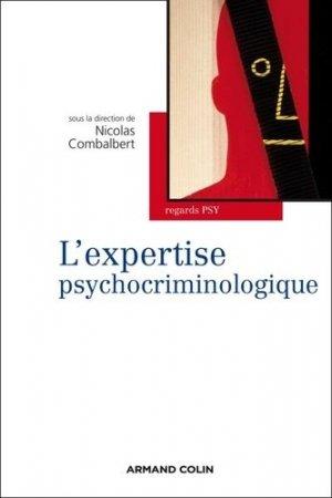 L'expertise psychocriminologique - armand colin - 9782200249786 -
