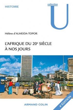 L'Afrique du 20e siècle à nos jours - armand colin - 9782200285074