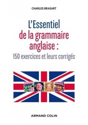 L'essentiel de la grammaire anglaise - armand colin - 9782200603489 -