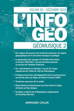 L'Information géographique (4/2018) - armand colin - 9782200931988