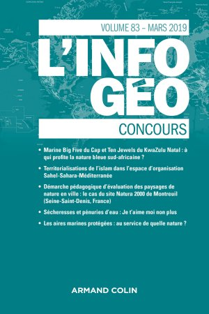 L'Information géographique - armand colin - 9782200932145 -