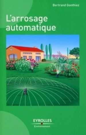 L'arrosage automatique - eyrolles - 9782212127188 -