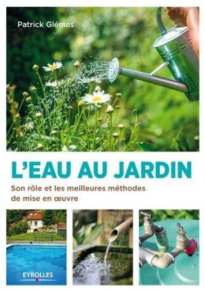L'eau au jardin - eyrolles - 9782212133608 -