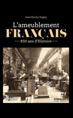 L'ameublement français - eyrolles - 9782212138948 -