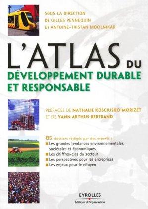 L'Atlas du développement durable et responsable - eyrolles - 9782212546903 -