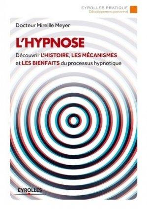 L'hypnose - eyrolles - 9782212558852 -