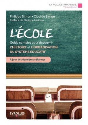 L'école - Eyrolles - 9782212568004 -
