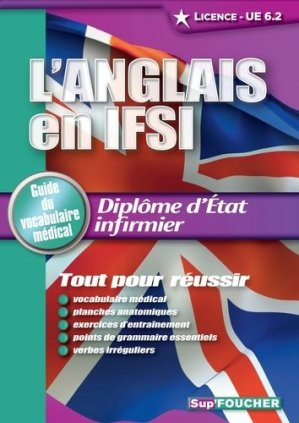 L'Anglais en IFSI - foucher - 9782216121342 -