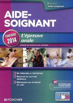 L'épreuve orale - Concours 2014 - foucher - 9782216124909 -