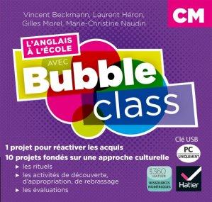 L'anglais à l'école avec Bubble class - CM - hatier - 9782218999871 -