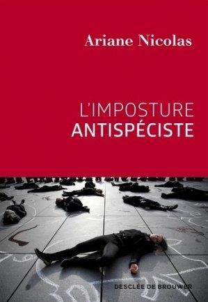 L'imposture antispéciste - Desclée de Brouwer - 9782220096650 -