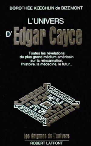 L'univers d'Edgar Cayce - Robert Laffont - 9782221042373 -