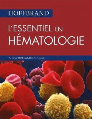 L'essentiel en hématologie - maloine - 9782224035181 -