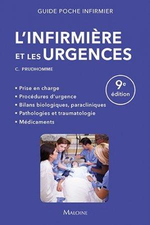 L'infirmière et les urgences - maloine - 9782224035358 -