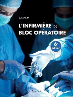 L'infirmière de bloc opératoire - maloine - 9782224035433 -
