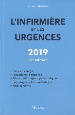 L'infirmière et les urgences 2019 - maloine - 9782224035655 -