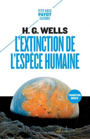 L'extinction de l'espèce humaine - payot - 9782228922210