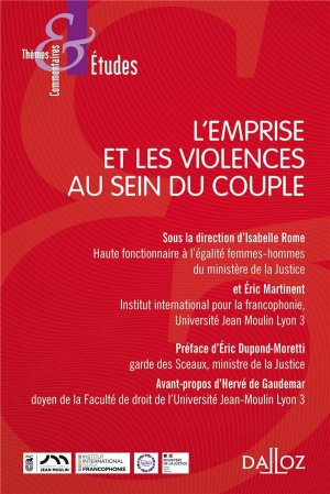 L'emprise et les violences au sein du couple - dalloz - 9782247207879 -