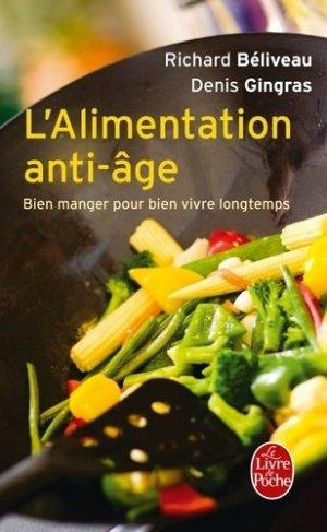 L'Alimentation anti-âge - le livre de poche - lgf librairie generale francaise - 9782253131847 -