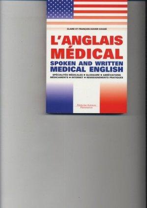 L'anglais médical - lavoisier msp - 9782257103628 -