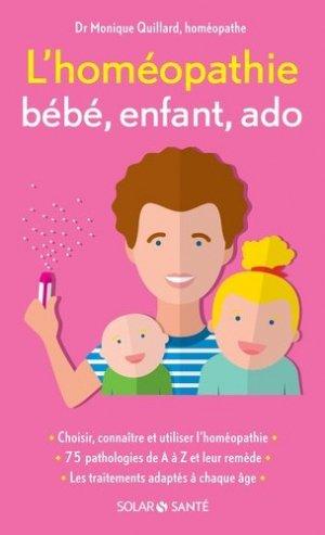 L'homéopathie bébé, enfant, ado - solar  - 9782263070303 -