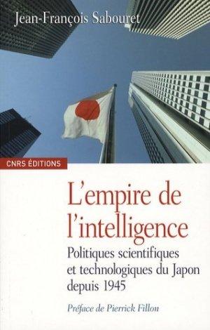 L'empire de l'intelligence - CNRS - 9782271065995 -