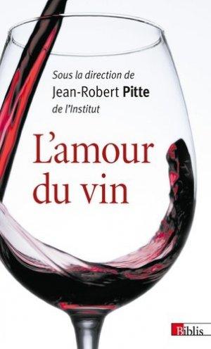 L'amour du vin - cnrs - 9782271093264 -