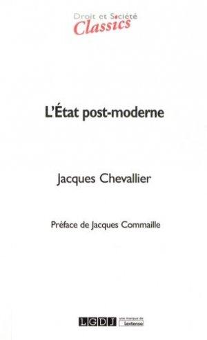L'Etat post-moderne. 5e édition - LGDJ - 9782275057637 -