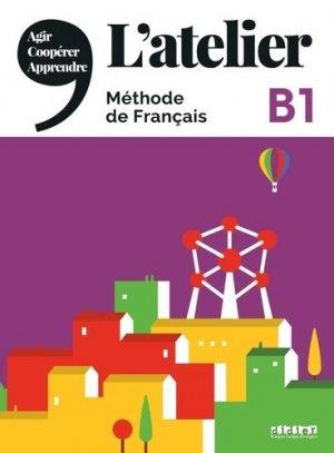 L'Atelier méthode de français - Didier - 9782278093021 -