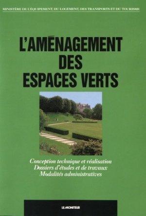 L'aménagement des espaces verts - le moniteur - 9782281111316 -