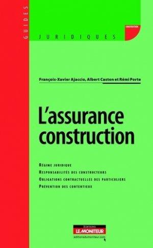 L'assurance construction-le moniteur-9782281128703