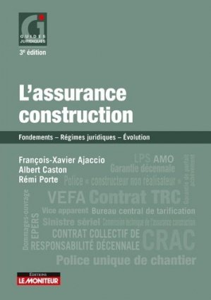 L'assurance construction - le moniteur - 9782281133561 -