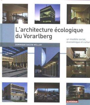L'architecture écologique du Vorarlberg - le moniteur - 9782281193923 -