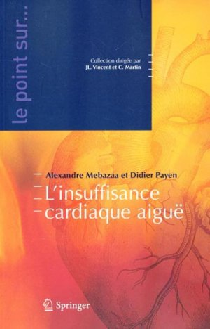 L'insuffisance cardiaque aiguë - springer verlag - 9782287340659 -