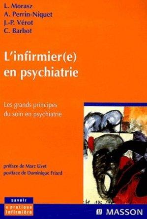L'infirmière en psychiatrie - elsevier / masson - 9782294006531 -