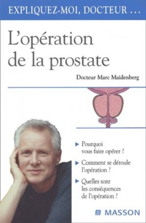 L'opération de la prostate - elsevier / masson - 9782294007651 -