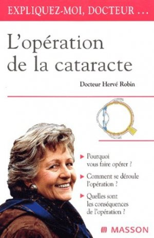 L'opération de la cataracte - elsevier / masson - 9782294007668 -