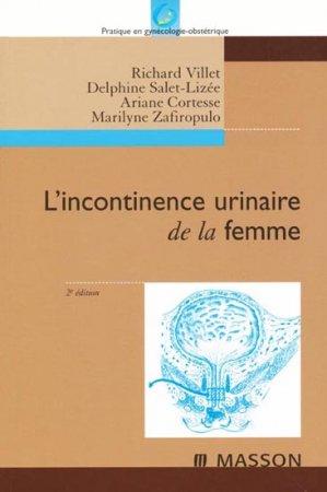 L'incontinence urinaire de la femme - elsevier / masson - 9782294014161 -