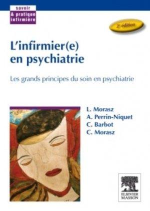L'infirmier(e) en psychiatrie - elsevier / masson - 9782294086212 -