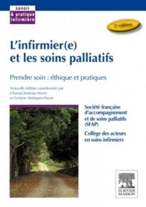 L'infirmier(e) et les soins palliatifs - elsevier / masson - 9782294738302 -