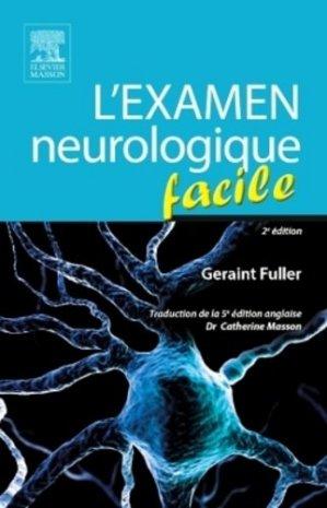 L'examen neurologique facile - elsevier / masson - 9782294739521 -