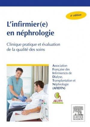 L'infirmièr(e) en néphrologie - elsevier / masson - 9782294743634 -