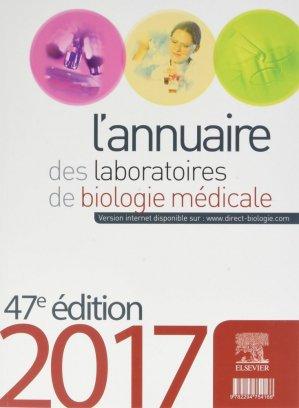 L'annuaire des laboratoires d'analyse de biologie médicale 2018 - elsevier / masson - 9782294754166 -