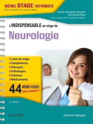 L'indispensable en stage de Neurologie - elsevier / masson - 9782294754210 -