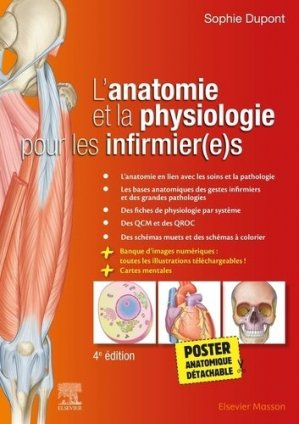 L'anatomie et la physiologie pour les infirmier(e)s - elsevier / masson - 9782294772993 -