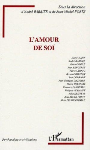 L'Amour de soi - l'harmattan - 9782296006027 -