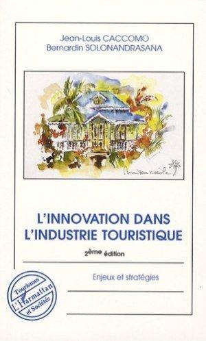 L'innovation dans l'industrie touristique - l'harmattan - 9782296010055 -
